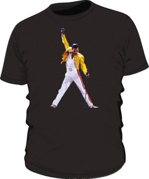 Koszulka męska czarna Freddie Mercury