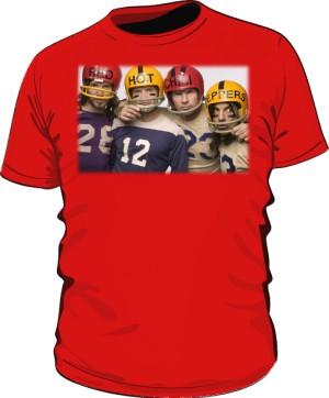 Koszulka czerwona męska RHCP gracze