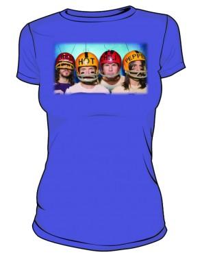 Koszulka niebieska damska RHCP gracze 2