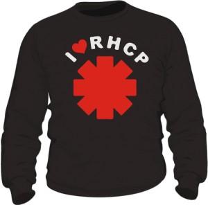 Bluza męska czarna I love RHCP