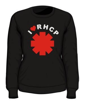 Bluza damska czarna I love RHCP