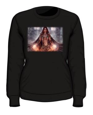 Bluza czarna damska Czarodziejka