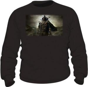 Bluza czarna męska Zwiadowca