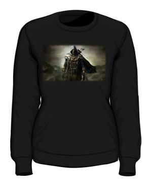 Bluza czarna damska Zwiadowca
