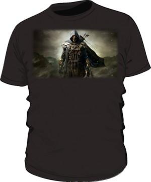 Koszulka czarna męska Zwiadowca