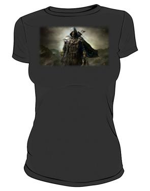 Koszulka czarna damska Zwiadowca