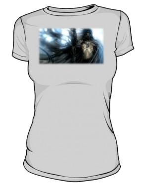 Koszulka szara damska Czarnoksiężnik