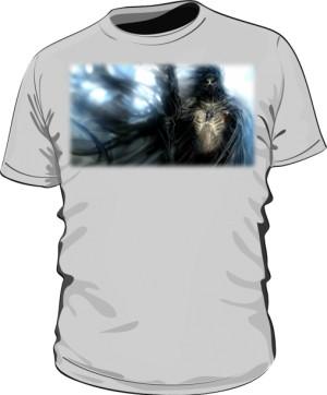 Koszulka szara męska Czarnoksiężnik