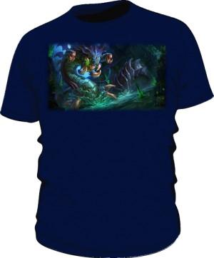 Koszulka granat męska Baron Nashor