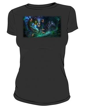 Koszulka czarna damska Baron Nashor