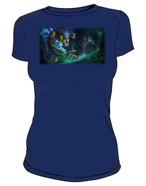 Koszulka granat damska Baron Nashor