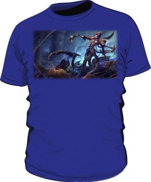 Koszulka niebieska męska Elise