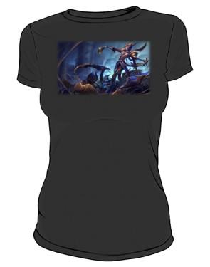 Koszulka czarna damska Elise