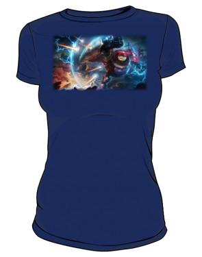 Koszulka granatowa damska Blitzcrank