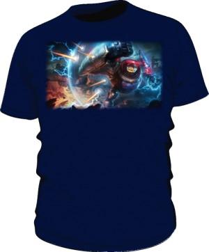 Koszulka granat męska Blitzcrank
