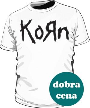 Koszulka męska biała Korn