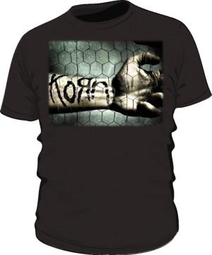 Koszulka męska czarna Korn