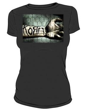 Koszulka damska czarna Korn