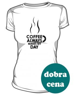 Koszulka damska Coffee always