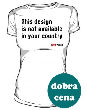 Koszulka damska Design