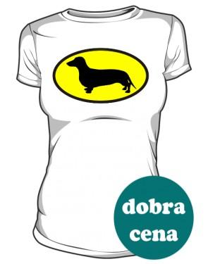 Koszulka damska Jamnik