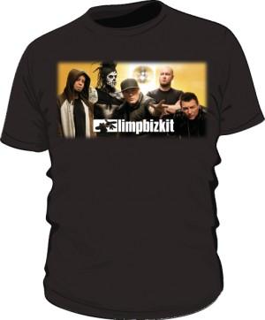 Koszulka czarna męska Limp Bizkit