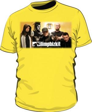 Koszulka żółta męska Limp Bizkit
