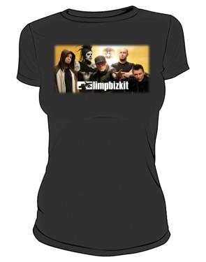 Koszulka czarna damska Limp Bizkit
