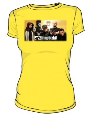 Koszulka żółta damska Limp Bizkit