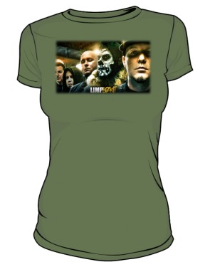 Koszulka khaki damska Limp Bizkit 2