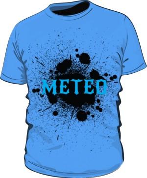 Koszulka Męska Niebieska