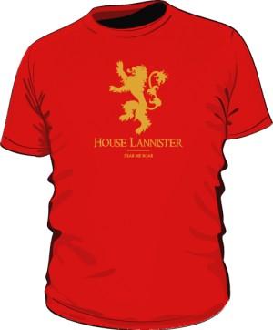 House Lannister koszulka MĘSKA