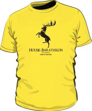 House Baratheon koszulka MĘSKA