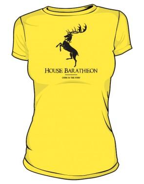 House Baratheon koszulka DAMSKA