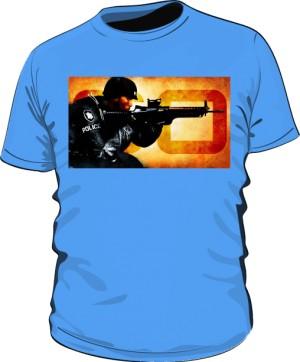 Koszulka CSGO niebieska