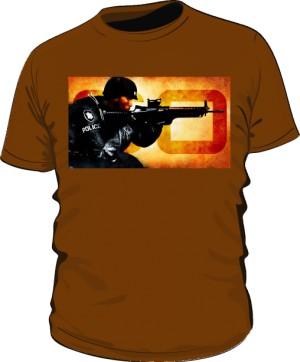 Koszulka CSGO brązowa