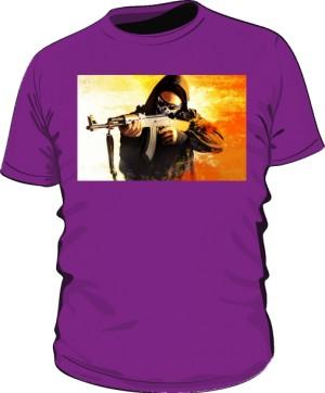 Koszulka CSGO fioletowa