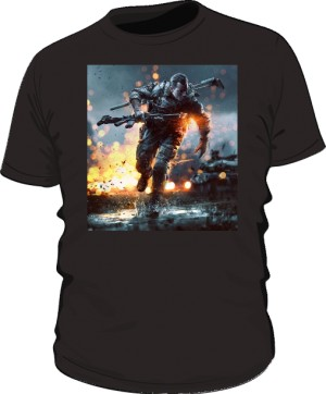 Koszulka BATTLEFIELD czarna