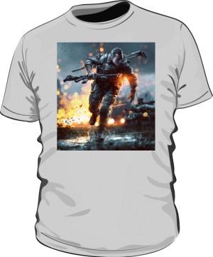 Koszulka BATTLEFIELD szara