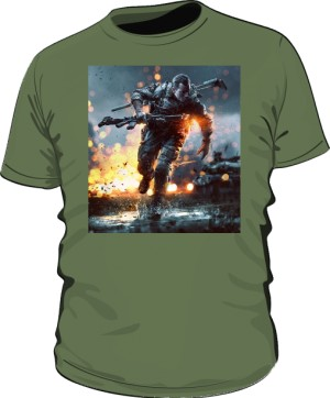 Koszulka BATTLEFIELD khaki