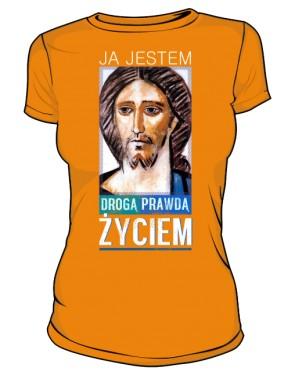 Koszulka JEZUS ŻYCIE damska