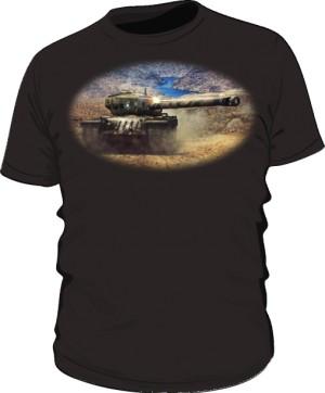 Koszulka męska czarna WoT 8