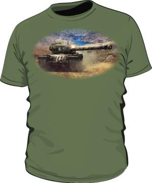 Koszulka męska khaki WoT 8