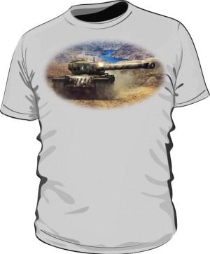 Koszulka męska szara WoT 8