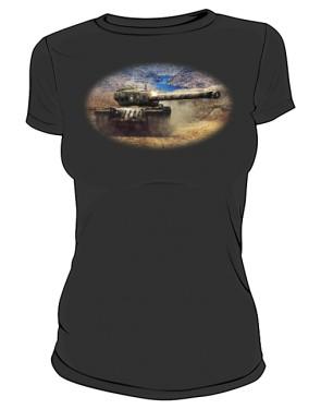 Koszulka damska czarna WoT 8