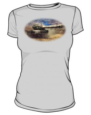 Koszulka damska szara WoT 8