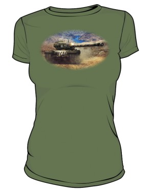 Koszulka damska khaki WoT 8