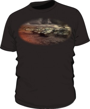 Koszulka męska czarna WoT 7