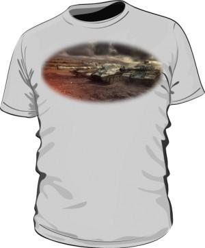 Koszulka męska szara WoT 7