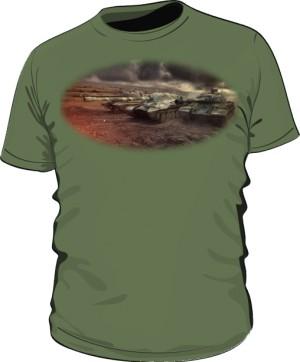 Koszulka męska khaki WoT 7